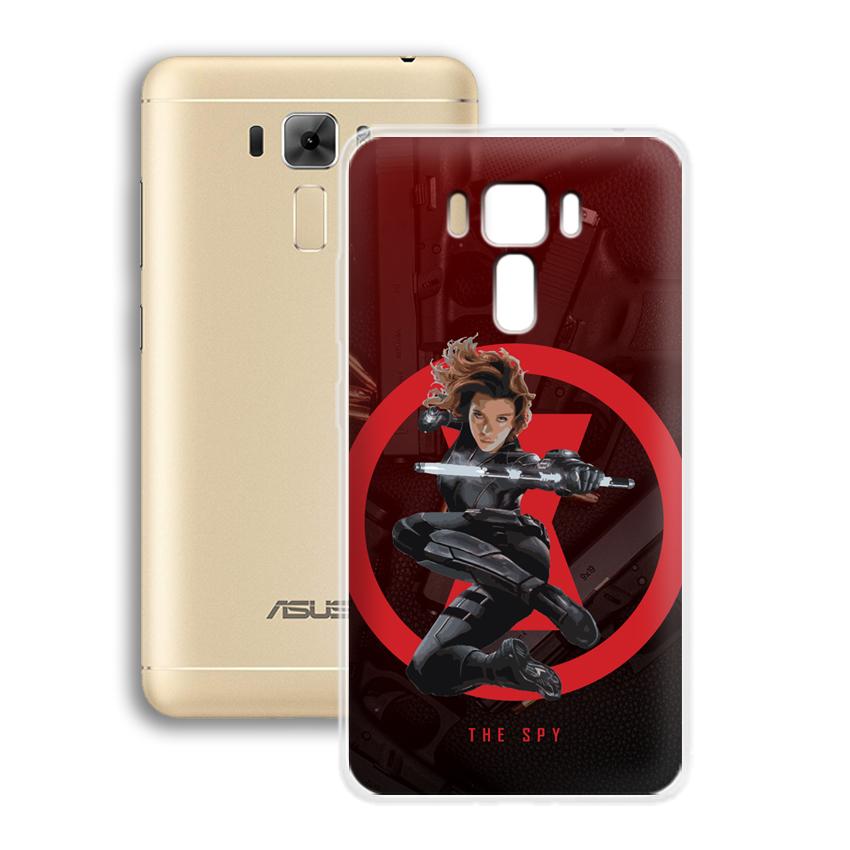 Ốp lưng cho điện thoại Asus Zenfone 3 laser 5.5 inch - 01006 0538 SPY01 - Silicone dẻo - Hàng Chính Hãng