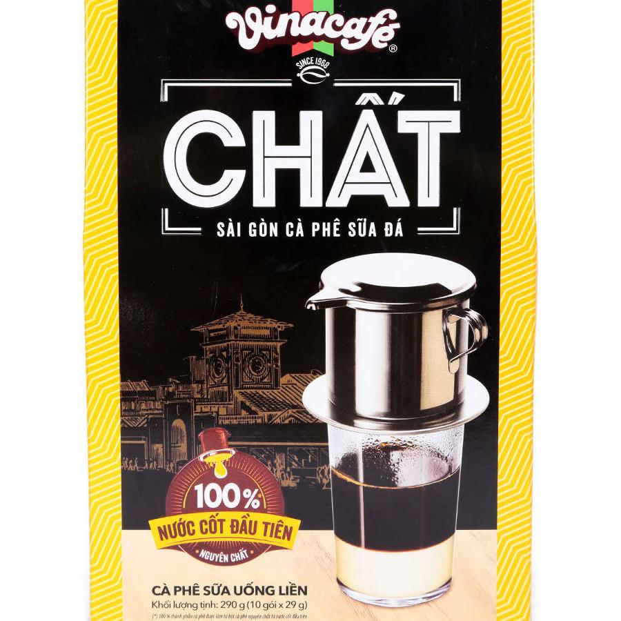 Sài Gòn Cà Phê Sữa Đá Vinacafe (29g) - 1199541 , 6371465031927 , 62_5083087 , 36000 , Sai-Gon-Ca-Phe-Sua-Da-Vinacafe-29g-62_5083087 , tiki.vn , Sài Gòn Cà Phê Sữa Đá Vinacafe (29g)