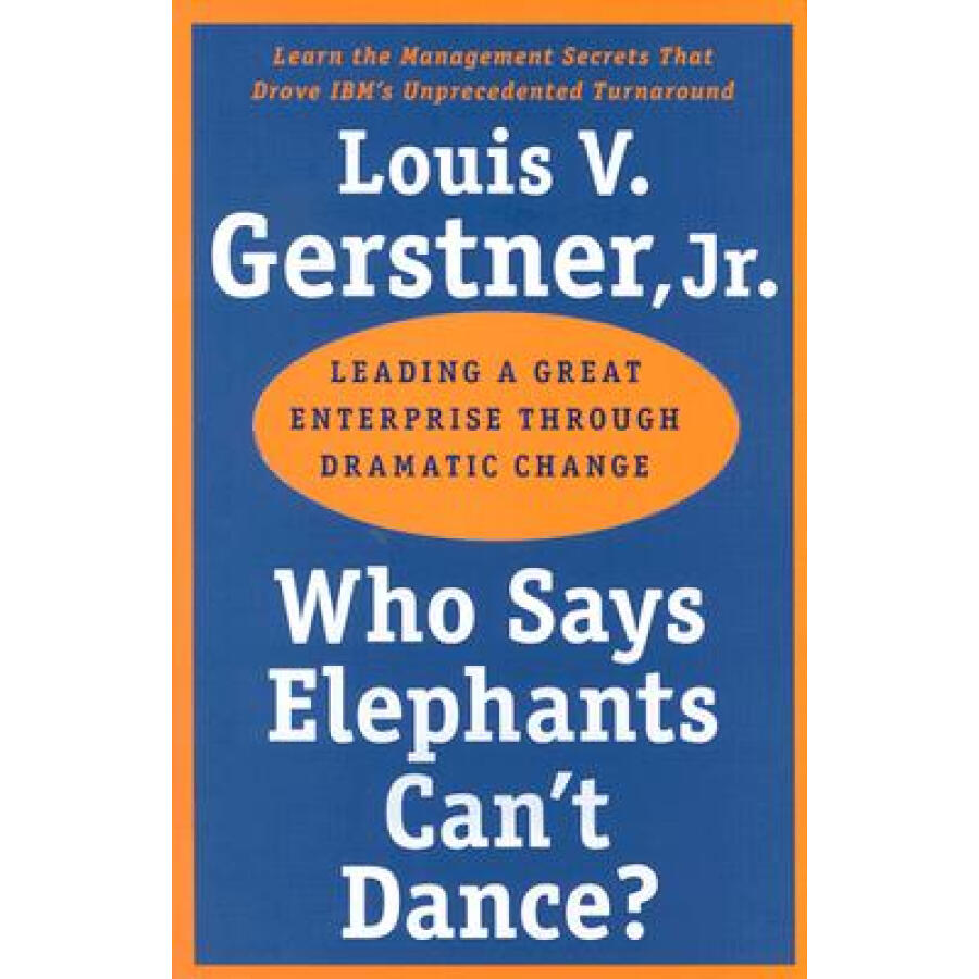 Who Says Elephants Cant Dance