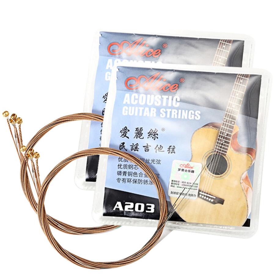 Dây Đàn Guitar Thép Chống Gỉ Alice A011A