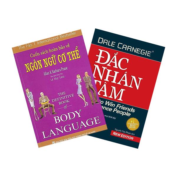 Combo Cuốn Sách Hoàn Hảo Về Ngôn Ngữ Cơ Thể - Body Language + Đắc Nhân Tâm - khổ lớn (2 cuốn)