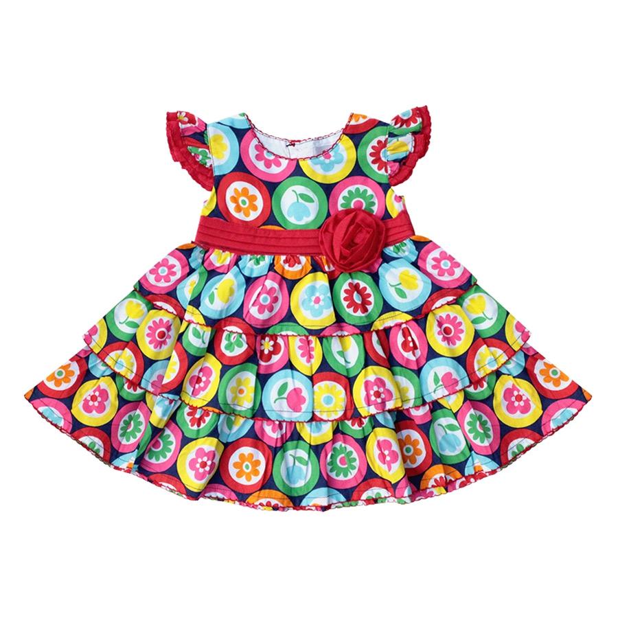 Đầm Bé Gái GirlyOne DA0708 V4 - Đỏ