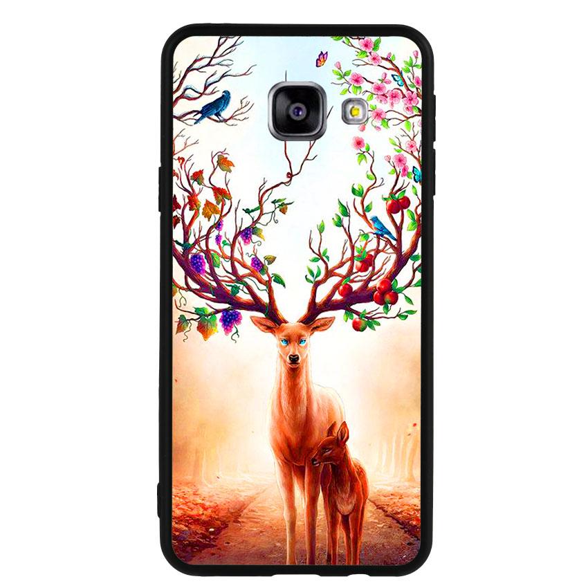 Ốp Lưng Viền TPU cho điện thoại Samsung Galaxy A3 2016 -Deer 01