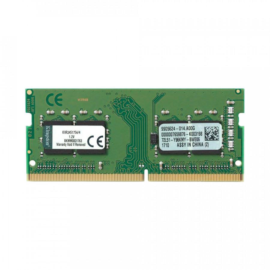 Ram Kingston DDR4 4Gb Bus 2400 MHz dùng cho laptop - Tương thích với tất cả Laptop chạy RAM DDR4 - Hàng Nhập Khẩu