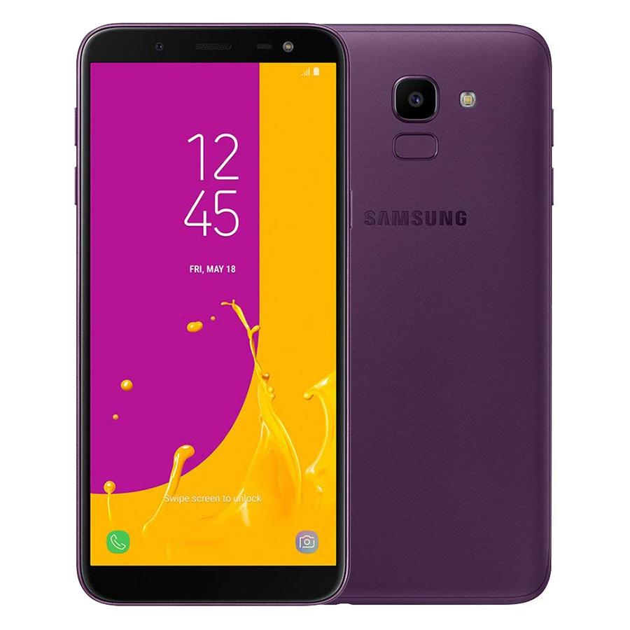 Điện Thoại Samsung Galaxy J6 (SM-J600G/DS) 3GB/32GB LTE SIM Kép Unlocked - Bản Quốc Tế (Tím) - 1362696 , 6029758741809 , 62_6319955 , 7625000 , Dien-Thoai-Samsung-Galaxy-J6-SM-J600G-DS-3GB-32GB-LTE-SIM-Kep-Unlocked-Ban-Quoc-Te-Tim-62_6319955 , tiki.vn , Điện Thoại Samsung Galaxy J6 (SM-J600G/DS) 3GB/32GB LTE SIM Kép Unlocked - Bản Quốc Tế (Tím