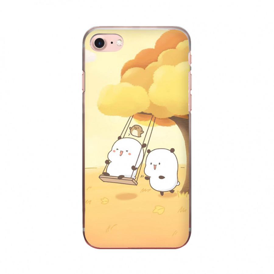 Ốp lưng cho iPhone 7  COUPLE MOLANG_1 in theo chất liệu - Hàng chính hãng