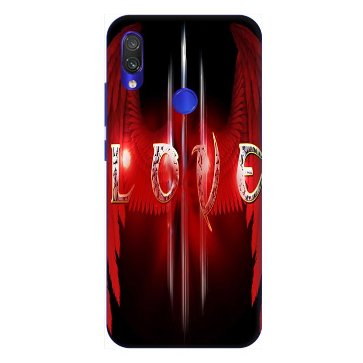 Ốp lưng dành cho điện thoại Xiaomi Redmi Note 7 hình Love You - Hàng chính hãng