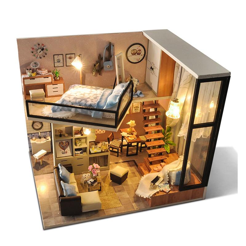 Nhà Búp Bê Lắp ghép Quiet Loft And Life Dream  TYU - 4568162 , 8270017735956 , 62_8945720 , 700000 , Nha-Bup-Be-Lap-ghep-Quiet-Loft-And-Life-Dream-TYU-62_8945720 , tiki.vn , Nhà Búp Bê Lắp ghép Quiet Loft And Life Dream  TYU