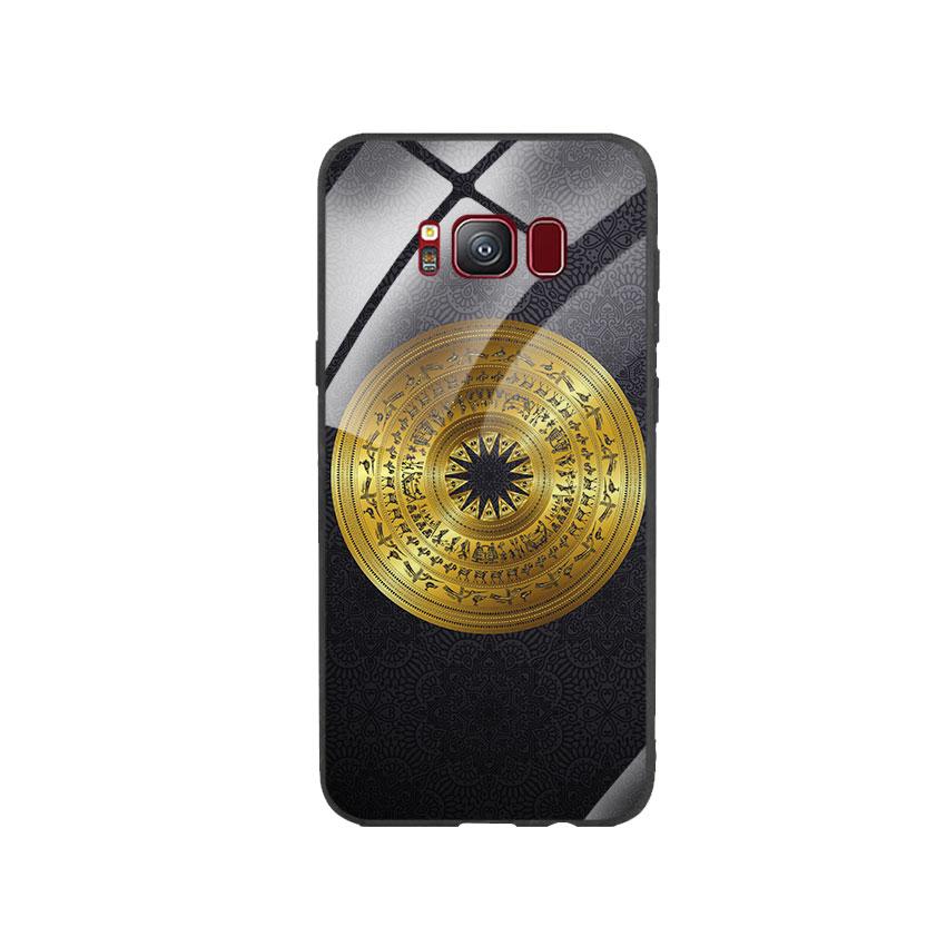Ốp Lưng Kính Cường Lực cho điện thoại Samsung Galaxy S8 - Trống Đồng 05