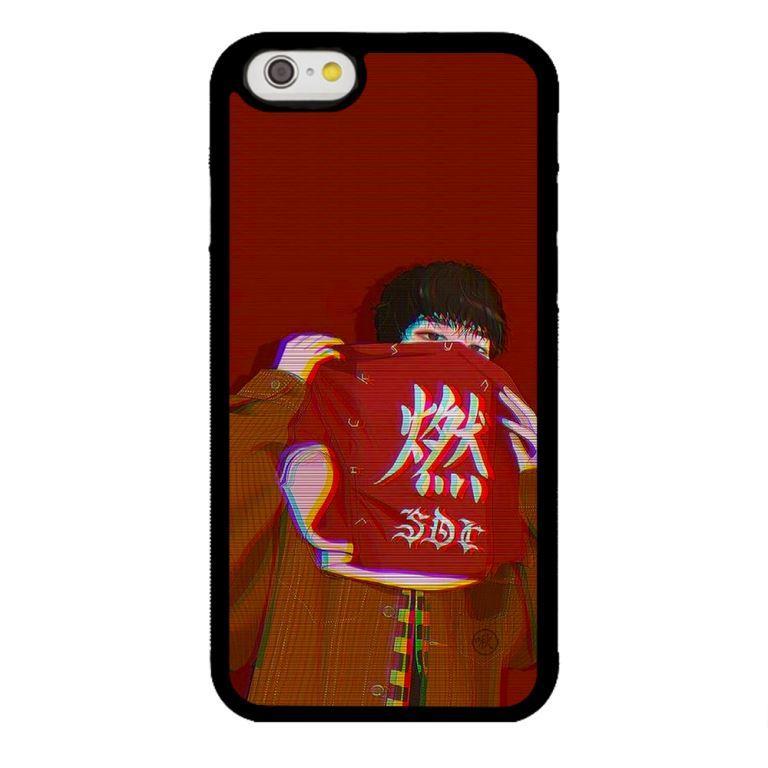 Ốp lưng dành cho điện thoại Iphone 6s Chàng Trai Nền Đỏ