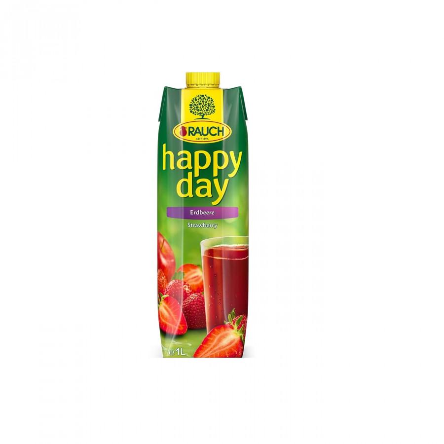 Nước Dâu Tây Rauch - Happy Day 1L