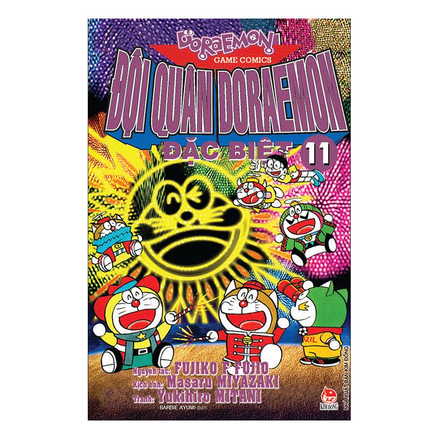 Đội Quân Doraemon Đặc Biệt - Tập 11 (Tái Bản 2019) - 1874785 , 5633255160073 , 62_14273559 , 18000 , Doi-Quan-Doraemon-Dac-Biet-Tap-11-Tai-Ban-2019-62_14273559 , tiki.vn , Đội Quân Doraemon Đặc Biệt - Tập 11 (Tái Bản 2019)