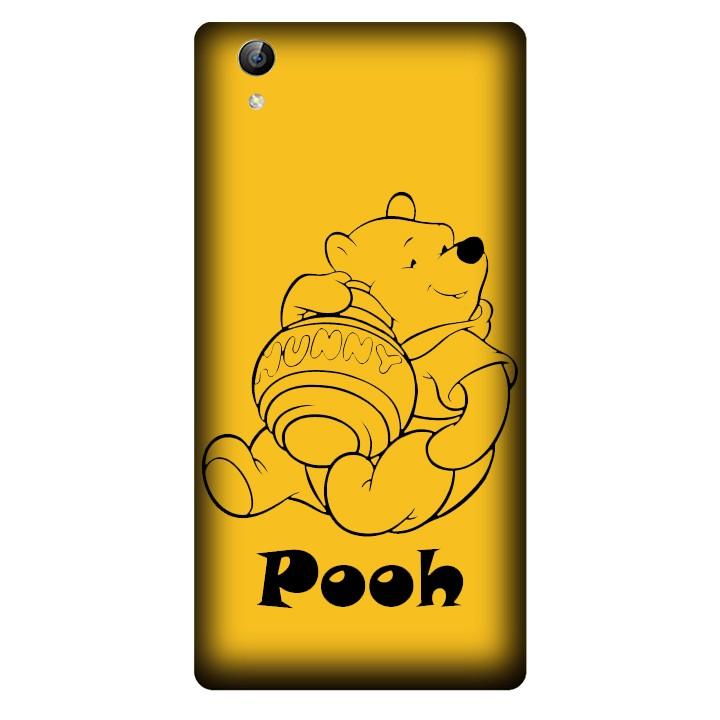 Ốp lưng nhựa cứng nhám dành cho Vivo Y51 in hình Pooh