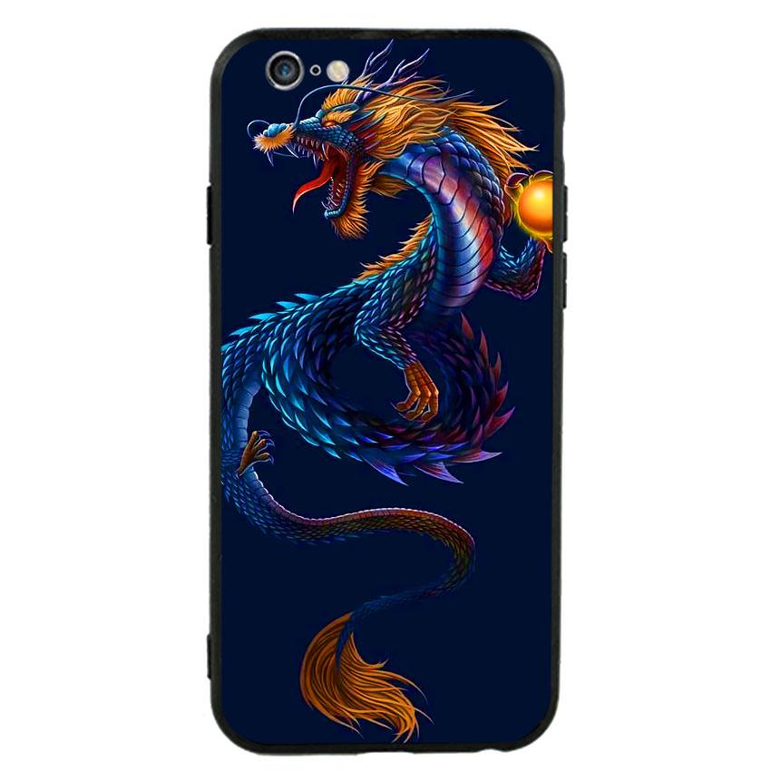Ốp lưng nhựa cứng viền dẻo TPU cho điện thoại Iphone 6 Plus/6s Plus -Dragon 08