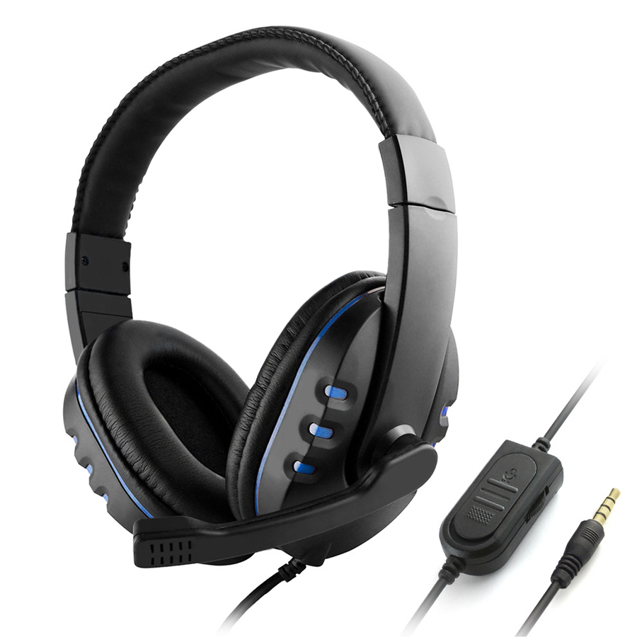 Gaming Headphones Over Ear Game Headset Noise Canceling Earphone for PC Laptop PS4 Smart Phone - 2152833 , 9253093189621 , 62_13750526 , 282000 , Gaming-Headphones-Over-Ear-Game-Headset-Noise-Canceling-Earphone-for-PC-Laptop-PS4-Smart-Phone-62_13750526 , tiki.vn , Gaming Headphones Over Ear Game Headset Noise Canceling Earphone for PC Laptop PS4 Smar