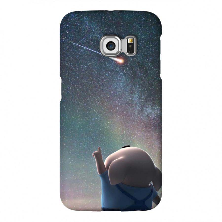 Ốp Lưng Cho Điện Thoại Samsung Galaxy S6 Edge - Mẫu heocon 36