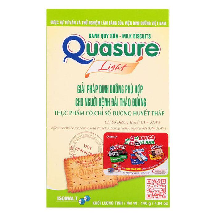 Bánh Quy Sữa Quasure Bibica Hộp 140g