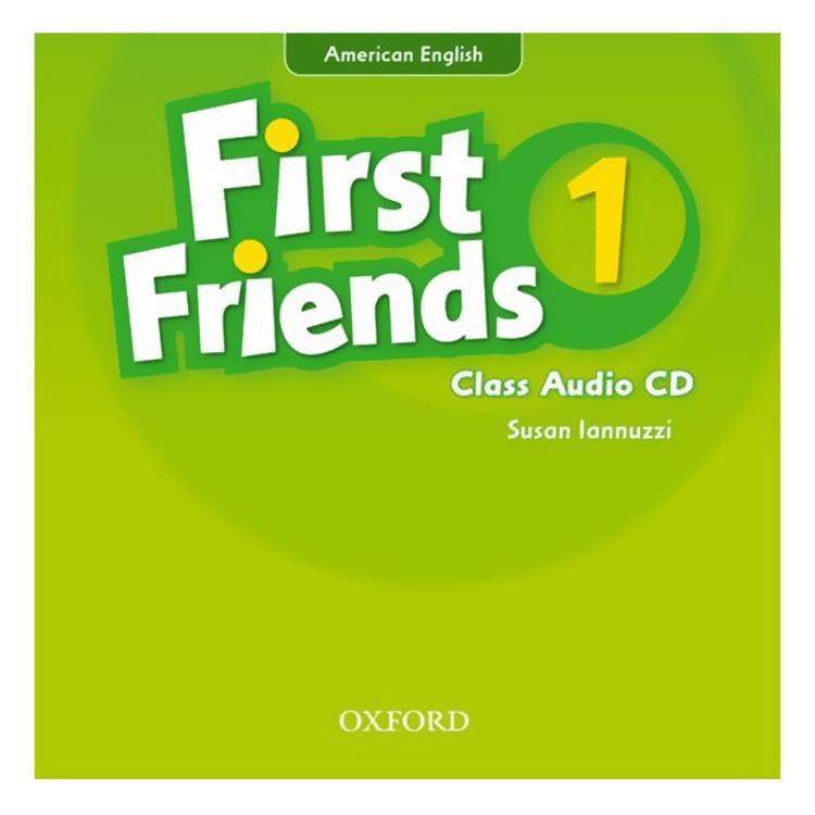 First Friends (Ame) 1 Class Audio CD