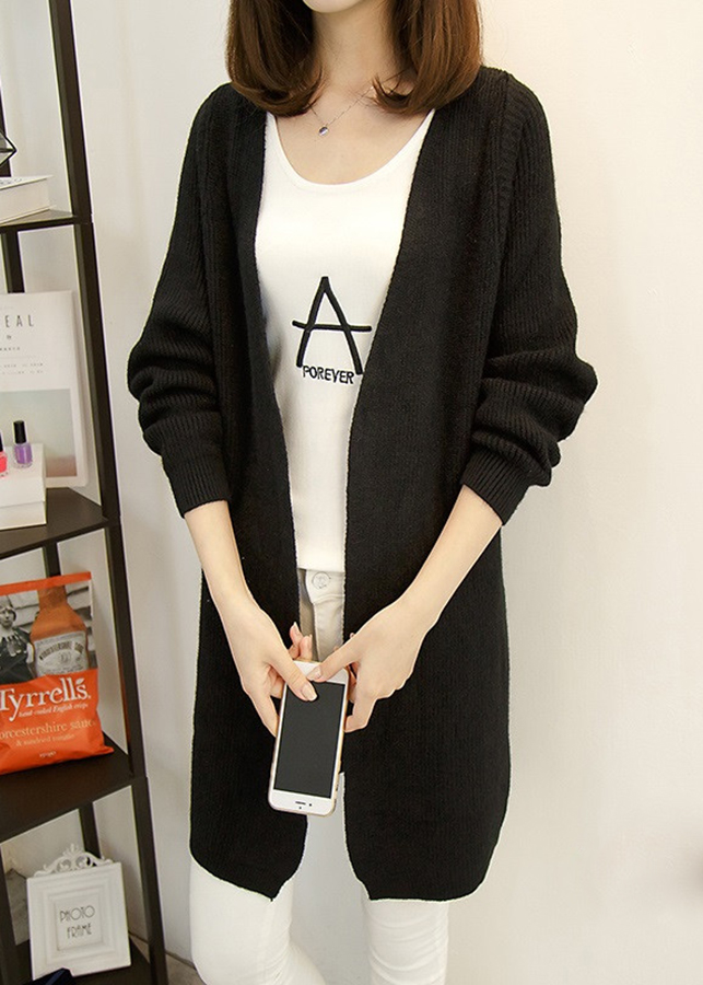 Áo khoác cardigan nữ dáng dài siêu ấm cao cấp, hàng nhập, chất đẹp