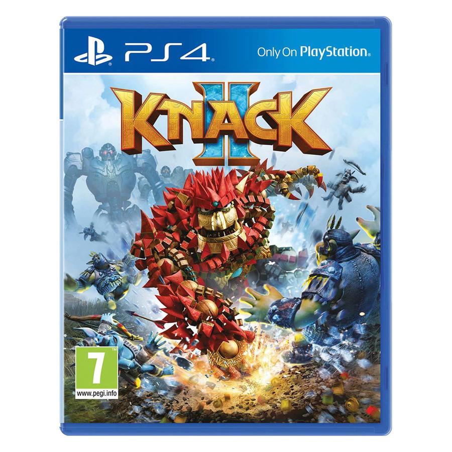 Đĩa Game PlayStation PS4 Sony Knack 2 Hệ Asia - Hàng Chính Hãng
