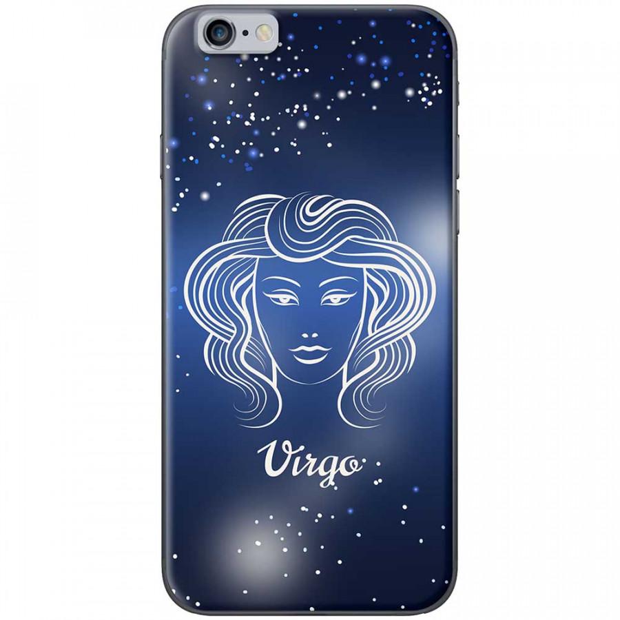 Ốp lưng  dành cho iPhone 6 Plus, iPhone 6s Plus mẫu Cung hoàng đạo Virgo (xanh)