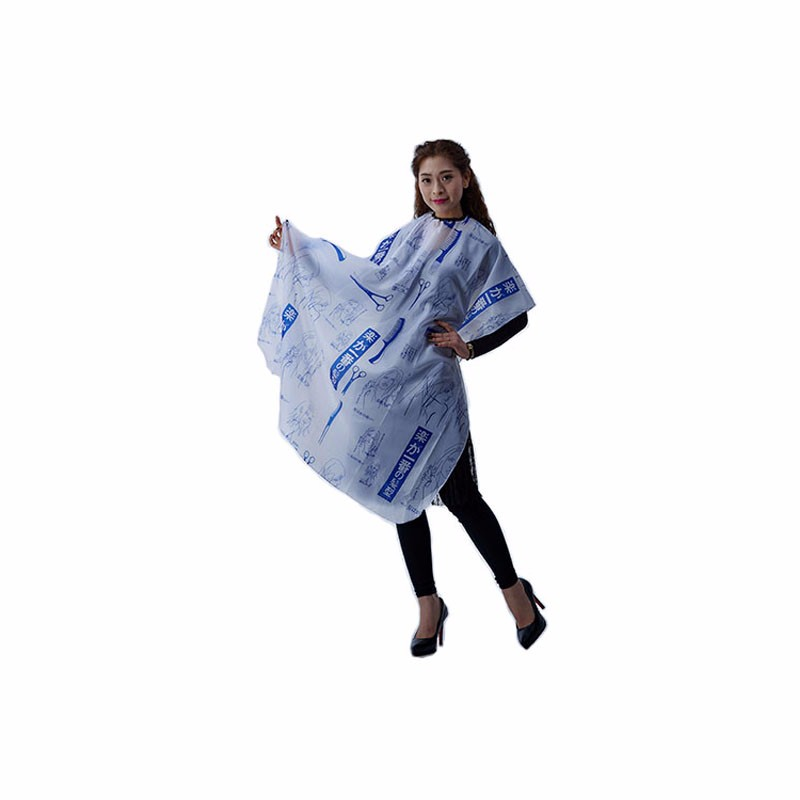 polyester hair cutting cape hairdressing tool