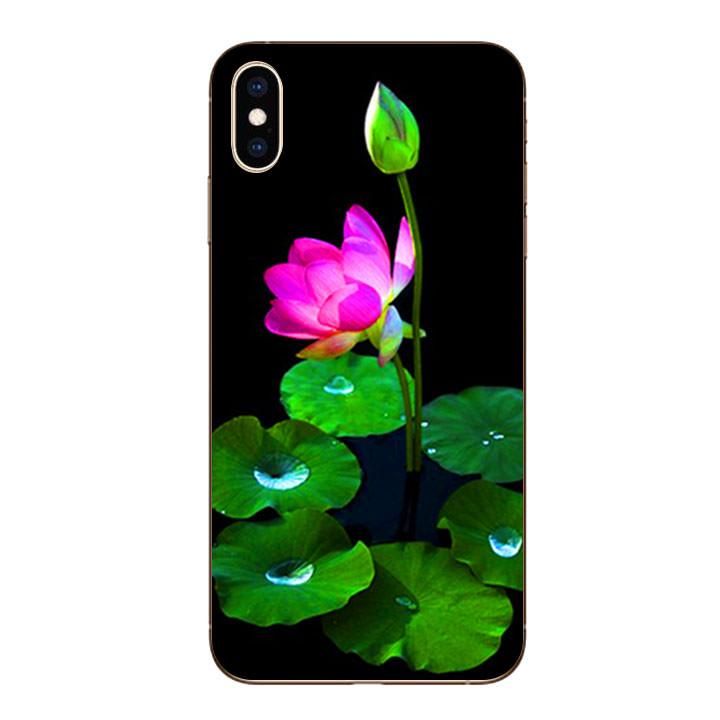 Ốp lưng dẻo cho Iphone XS Max - Lotus 02 - 1246468 , 6928959796116 , 62_5503827 , 200000 , Op-lung-deo-cho-Iphone-XS-Max-Lotus-02-62_5503827 , tiki.vn , Ốp lưng dẻo cho Iphone XS Max - Lotus 02