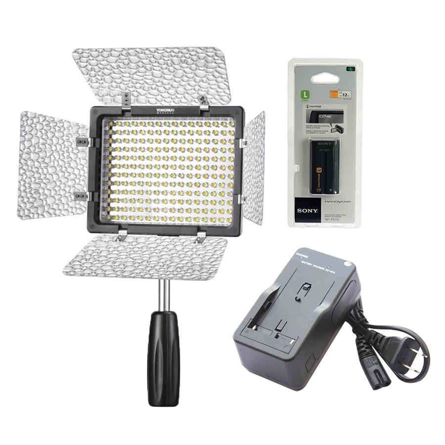 Combo Đèn LED Yongnuo YN-160 III + Bộ 01  Viên Pin F970  01  Sạc V615 - Hàng Nhập Khẩu - 1348542 , 9152749314052 , 62_5850105 , 2700000 , Combo-Den-LED-Yongnuo-YN-160-III-Bo-01-Vien-Pin-F970-01-Sac-V615-Hang-Nhap-Khau-62_5850105 , tiki.vn , Combo Đèn LED Yongnuo YN-160 III + Bộ 01  Viên Pin F970  01  Sạc V615 - Hàng Nhập Khẩu