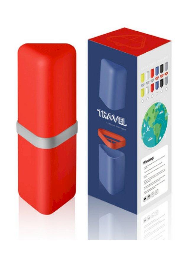 Hộp đựng bàn chải kem đánh răng cao cấp làm từ nhựa PP an toàn cho sức khoẻ [tặng 01 túi đựng giầy chống thấm]