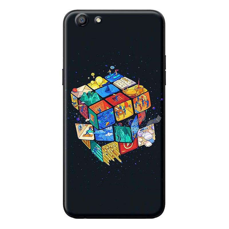 Ốp Lưng Dành Cho Điện Thoại Oppo Neo 9S Rubik
