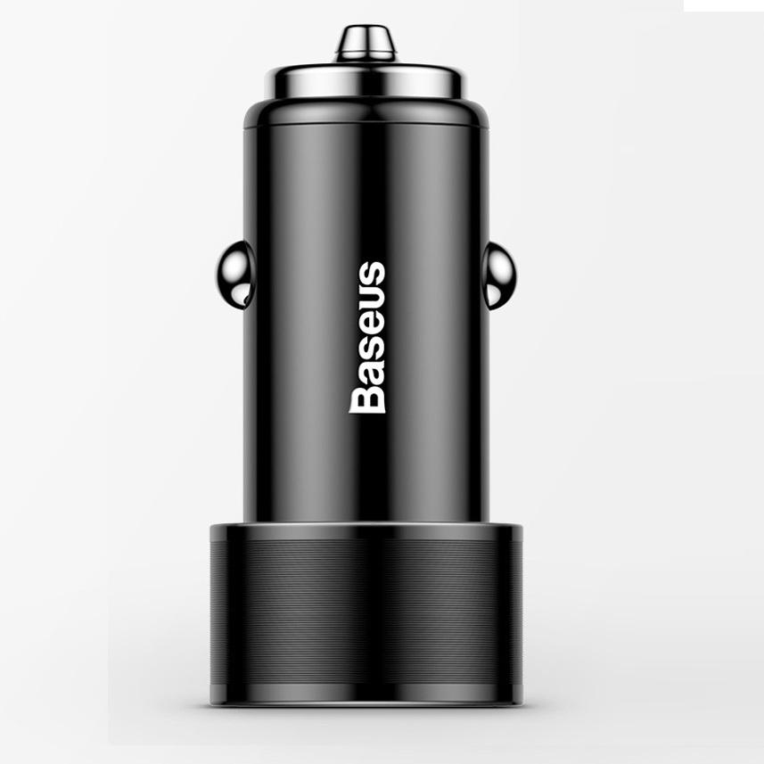 Củ sạc nhanh Quick Charge QC3.0 36W trên xe hơi, ô tô chính hãng Baseus 2 cổng USB - 1479461 , 8564397344779 , 62_15407684 , 280000 , Cu-sac-nhanh-Quick-Charge-QC3.0-36W-tren-xe-hoi-o-to-chinh-hang-Baseus-2-cong-USB-62_15407684 , tiki.vn , Củ sạc nhanh Quick Charge QC3.0 36W trên xe hơi, ô tô chính hãng Baseus 2 cổng USB
