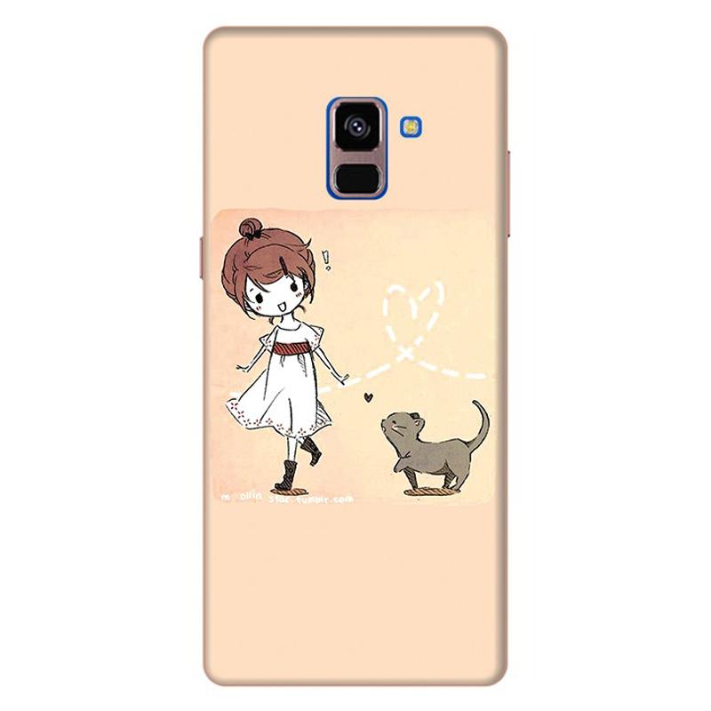 Ốp Lưng Cho Samsung Galaxy A8 Plus 2018 - Mẫu 35