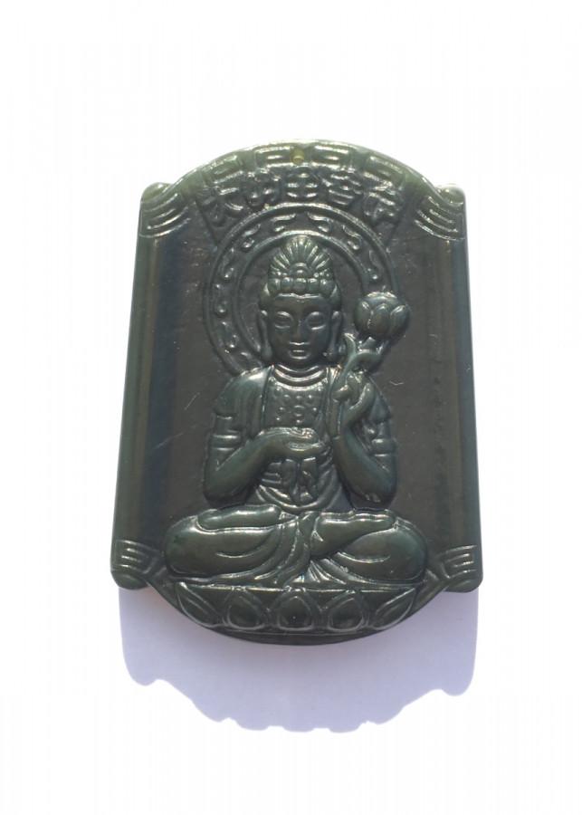 Mặt Dây Chuyền Phật Bản Mệnh Đại Thế Chí Bồ Tát Đá Ngọc Bích Nephrite - NEJA Gemstones - 797359 , 2483958986264 , 62_13309591 , 3000000 , Mat-Day-Chuyen-Phat-Ban-Menh-Dai-The-Chi-Bo-Tat-Da-Ngoc-Bich-Nephrite-NEJA-Gemstones-62_13309591 , tiki.vn , Mặt Dây Chuyền Phật Bản Mệnh Đại Thế Chí Bồ Tát Đá Ngọc Bích Nephrite - NEJA Gemstones