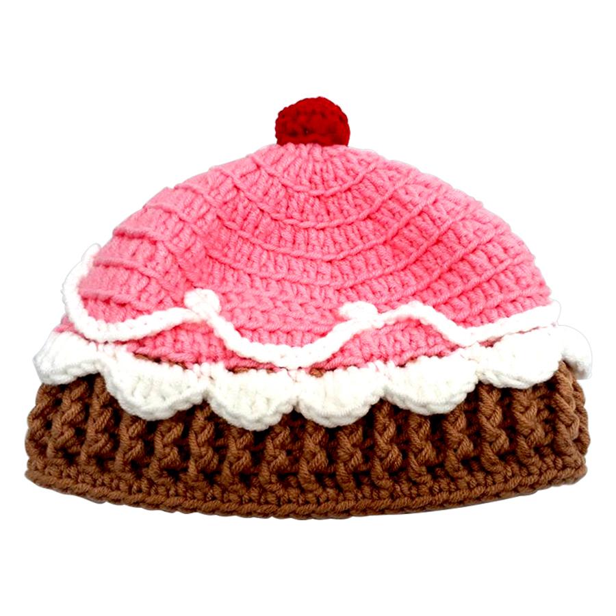 Nón Len Cupcake Cho Bé H612C03