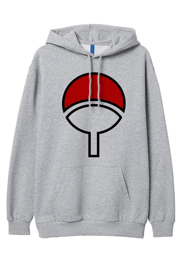 Áo Hoddie Biểu Tượng Uchiha Naruto Anime