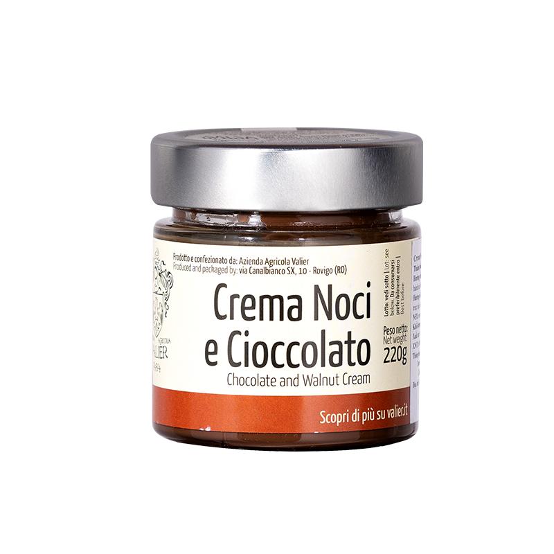 CREAM TỪ QUẢ ÓC CHÓ VÀ CHOCOLATE (CREAMA NOCI E CIOCCOLATO).