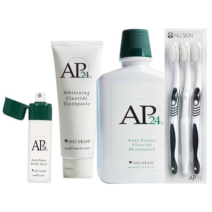 Kem đánh răng trắng sáng AP24 + Nước súc miệng AP24 + Xịt thơm miệng AP24 (Tặng bộ 3 bàn chải chuyên dụng trị giá...