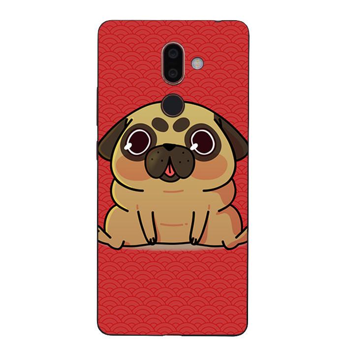 Ốp Lưng Dẻo Cho Điện Thoại Nokia 7 Plus - Cute Dog 02