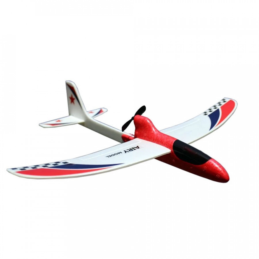 Glider Airplane Smooth Electric Hand Launch Outdoor Inertial