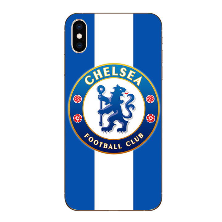 Ốp lưng dẻo cho Iphone XS Max - Clb Chelsea 01