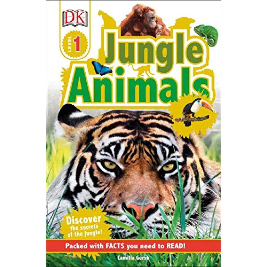 DK Readers L1: Jungle Animals - 1240809 , 8043985276055 , 62_5280977 , 108000 , DK-Readers-L1-Jungle-Animals-62_5280977 , tiki.vn , DK Readers L1: Jungle Animals