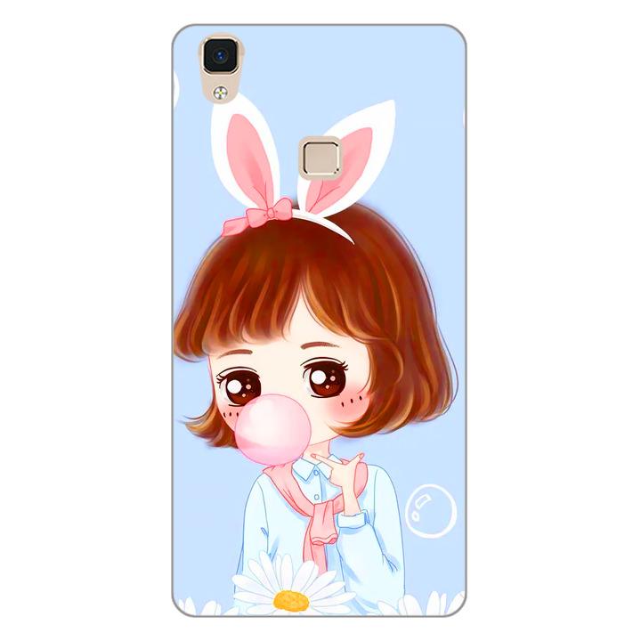 Ốp lưng dẻo cho điện thoại Vivo V3 Max - Baby Girl 03
