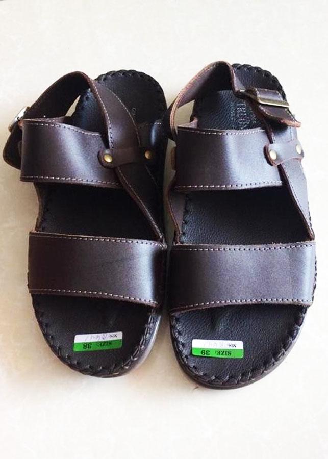 Giày sandal nam da bò thật TH0017 - 7621938 , 6397420881017 , 62_12214044 , 1000000 , Giay-sandal-nam-da-bo-that-TH0017-62_12214044 , tiki.vn , Giày sandal nam da bò thật TH0017