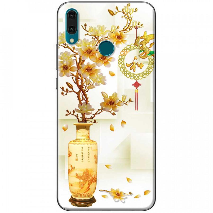 Ốp lưng dành cho Huawei Y9 2019 mẫu Chậu sứ