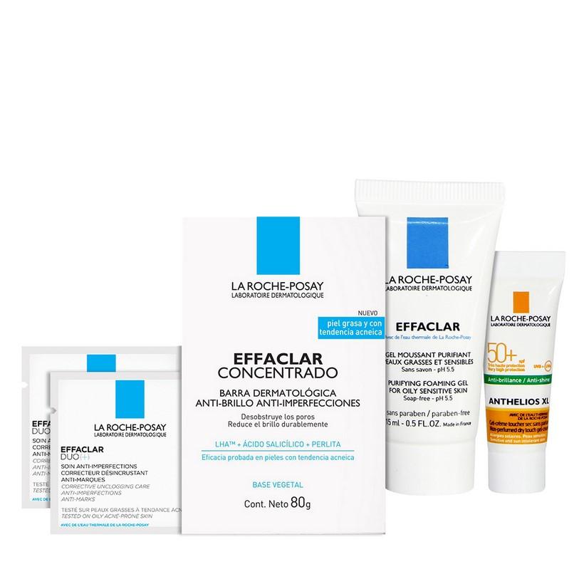 Bộ chăm sóc bảo vệ da mụn toàn thân La Roche-Posay Effaclar Purifying Bar 80g