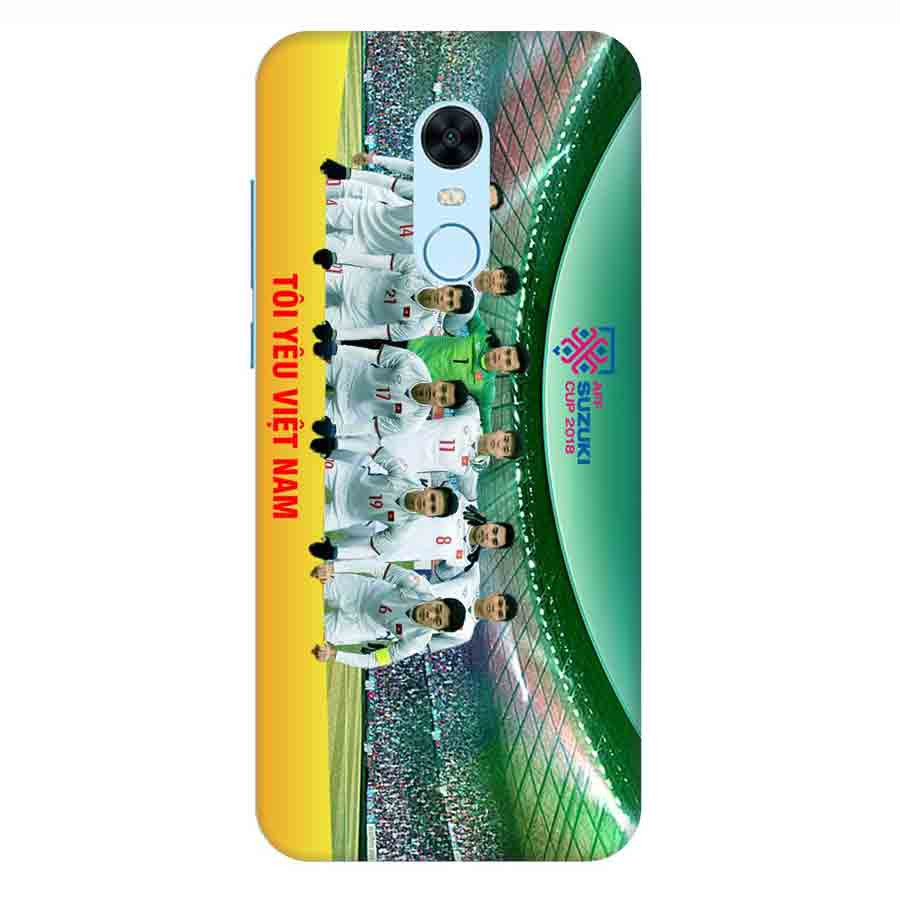 Ốp Lưng Dành Cho Xiaomi Note 5 Plus AFF Cup Đội Tuyển Việt Nam - Mẫu 3