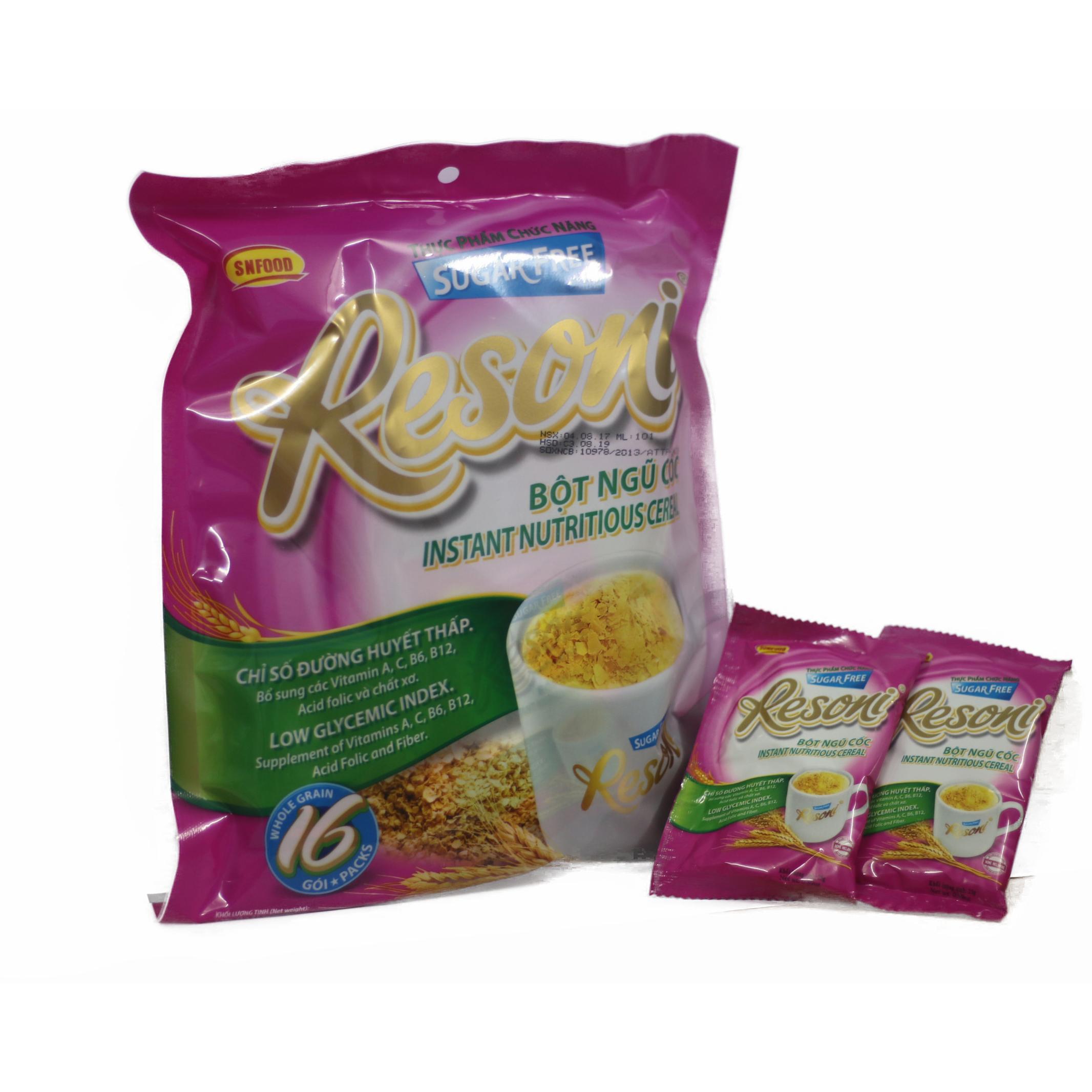 Bột ngũ cốc  Resoni - Thực phẩm chức năng dành cho người ăn kiêng, tiểu đường - 926342 , 7423152642608 , 62_1944767 , 57000 , Bot-ngu-coc-Resoni-Thuc-pham-chuc-nang-danh-cho-nguoi-an-kieng-tieu-duong-62_1944767 , tiki.vn , Bột ngũ cốc  Resoni - Thực phẩm chức năng dành cho người ăn kiêng, tiểu đường