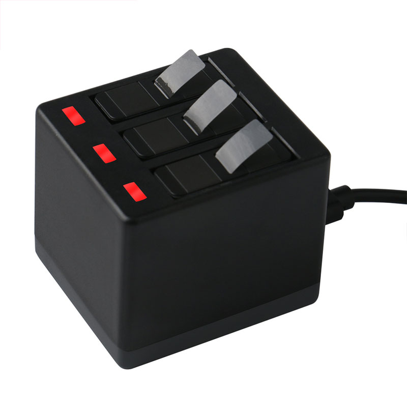 Hộp Sạc Pin 3 Chiều Cầm Tay GoPro Hero 6 5