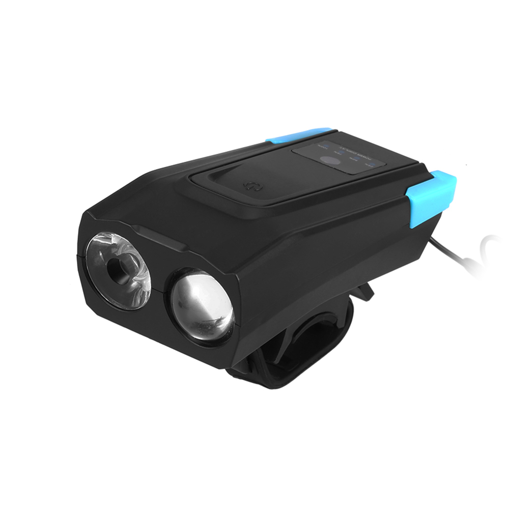 Bicycle Front Light USB Rechargeable Smart Induction Bike Headlight LED Lamp Flashlight with Horn 2000mAh/4000mAh - 16800205 , 2715658057204 , 62_29146659 , 373200 , Bicycle-Front-Light-USB-Rechargeable-Smart-Induction-Bike-Headlight-LED-Lamp-Flashlight-with-Horn-2000mAh-4000mAh-62_29146659 , tiki.vn , Bicycle Front Light USB Rechargeable Smart Induction Bike Head