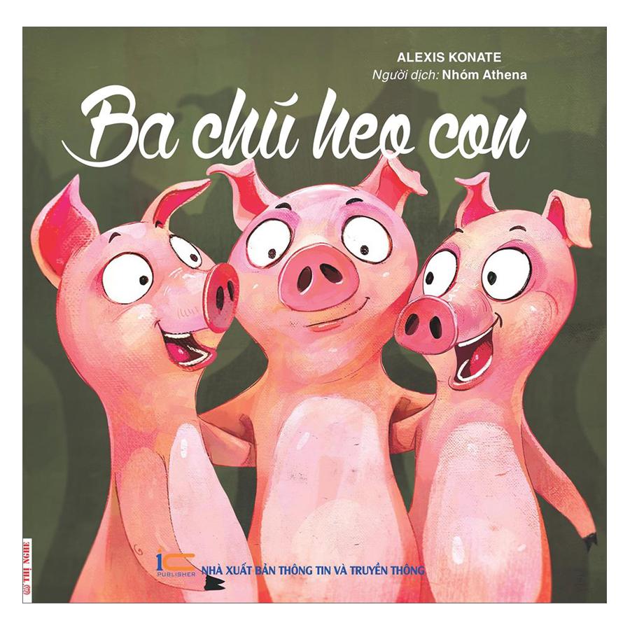 Truyện Song Ngữ - Ba Chú Heo Con - 1905294 , 5607916566290 , 62_14606551 , 35000 , Truyen-Song-Ngu-Ba-Chu-Heo-Con-62_14606551 , tiki.vn , Truyện Song Ngữ - Ba Chú Heo Con